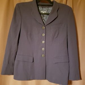 Giorgio Armani navy blazer 46 5 button wool